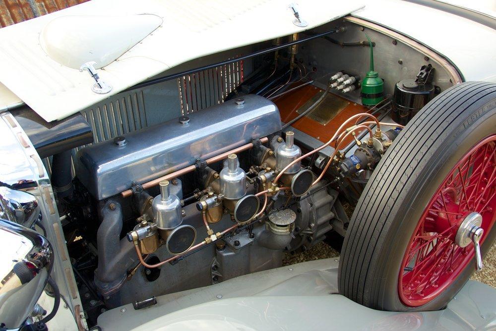 1932 Alvis Speed 20 SA 4-Door Tourer by Cross & Ellis #15