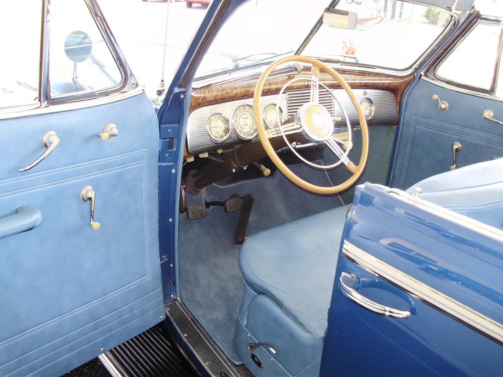 1940 BUICK CENTURY CONVERTIBLE SEDAN - Vintage Motors of Sarasota Inc. #24