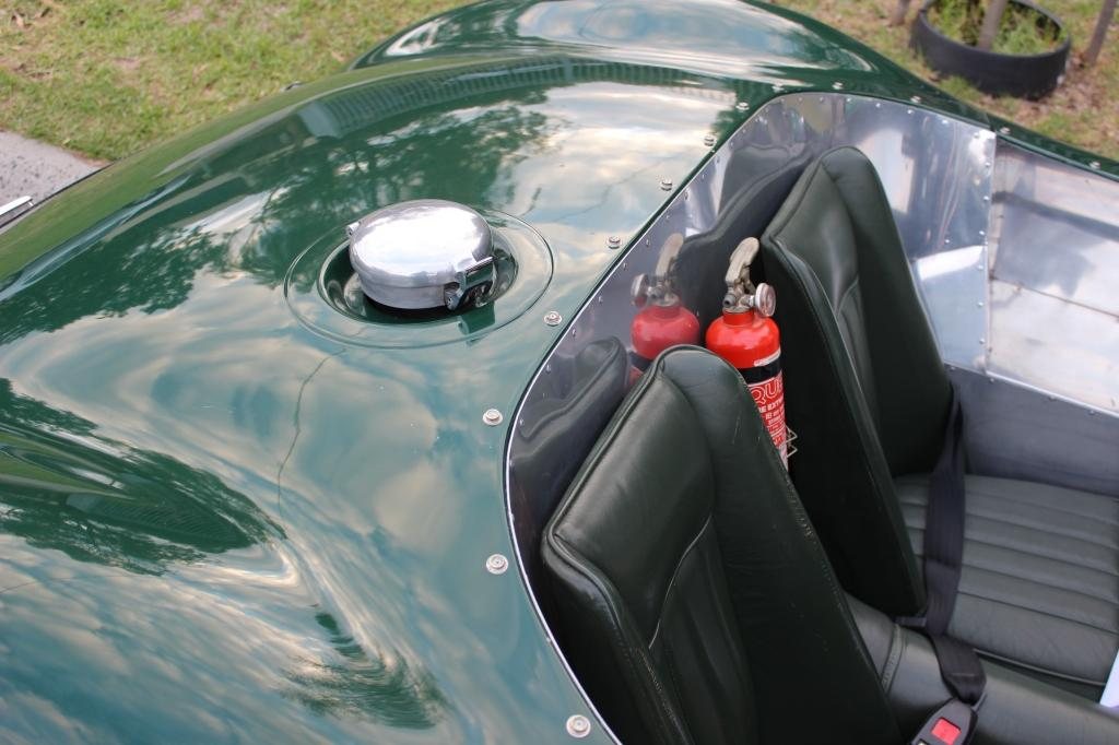 """Jaguar """"C"""" Type replica #7"""