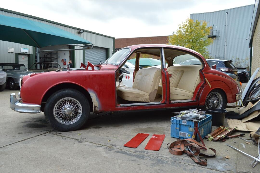 1962 Jaguar Mk2 3.8 Manual Restoration Project #3