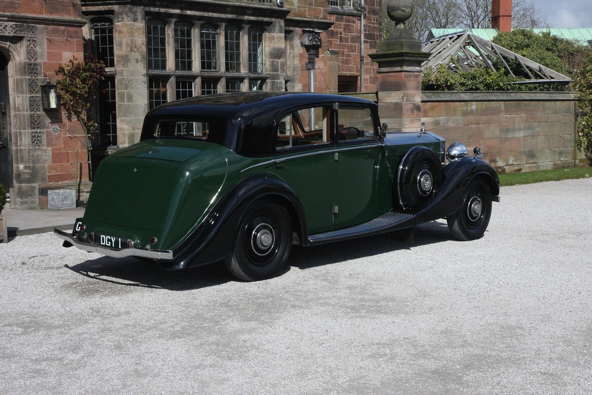 1936 Rolls Royce Phantom III #5