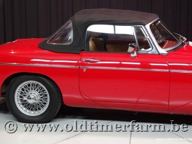 MG B Roadster Red '67 #203