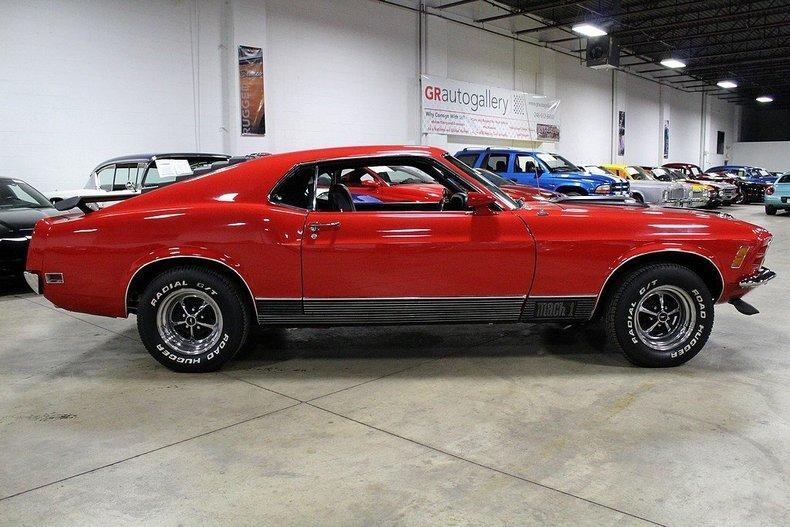 1970 Ford Mustang Mach 1 #5