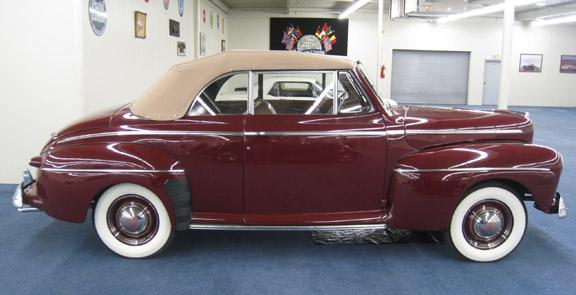 1946 FORD SUPER DELUXE 8 CONVERTIBLE #9