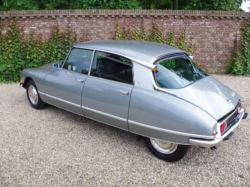 CITROËN DS21 PALLAS INJECTION WITH SUNROOF AND MANUAL GEARBOX! . (1970) #54