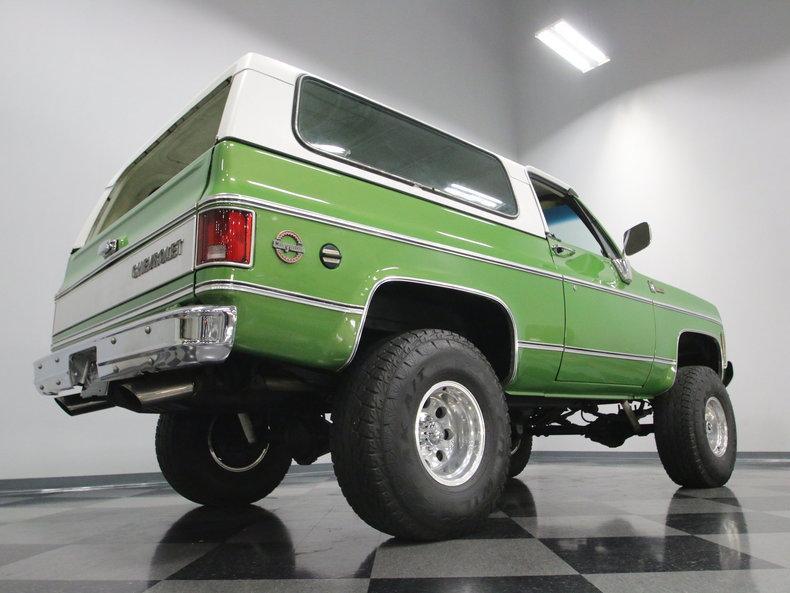 1975 Chevrolet Blazer K5 #29