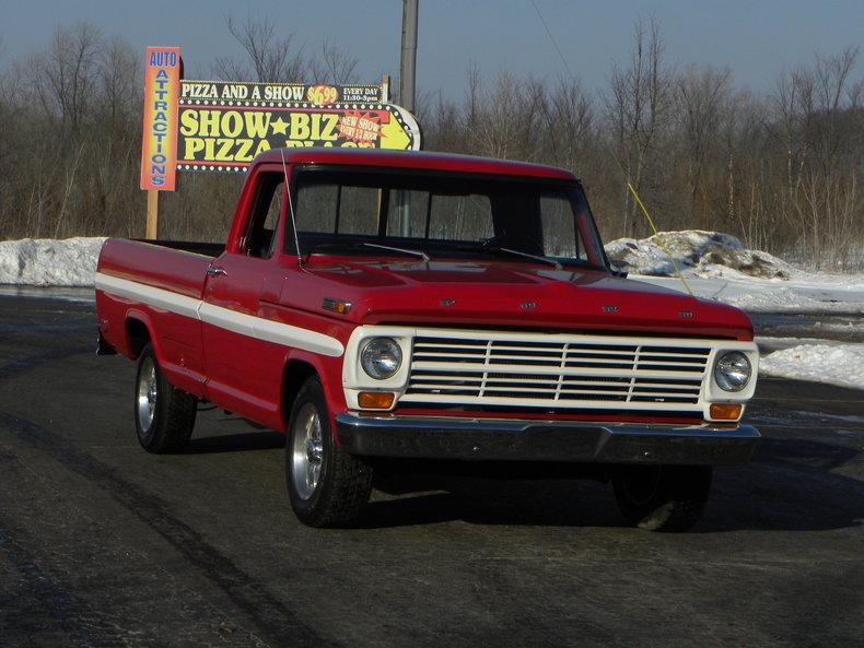 1969 Ford F100 Deluxe Styleside Pickup #1