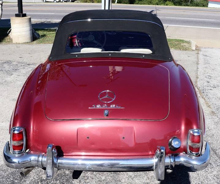 Mercedes-Benz 190SL 1958 #8