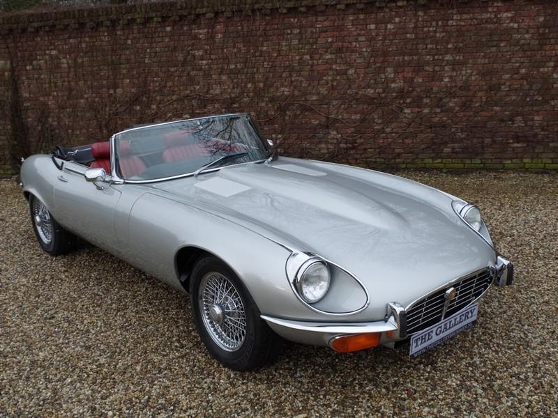 Jaguar E-type series 3 V12 convertible manual gearbox, with factory AC (1973) #67