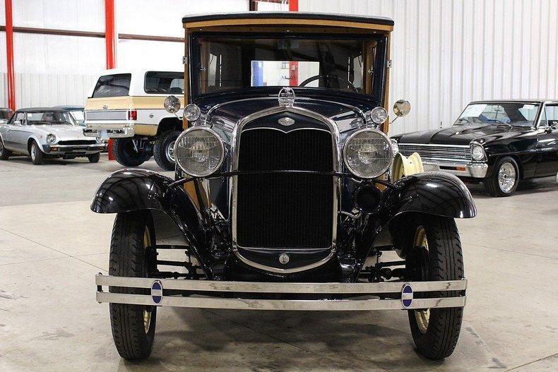 1931 Ford Model A Huckster #7