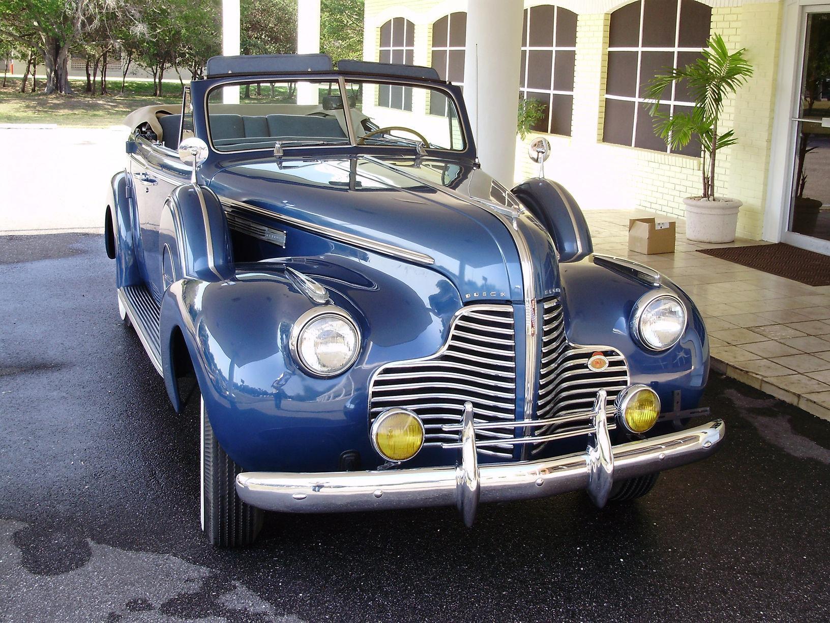1940 BUICK CENTURY CONVERTIBLE SEDAN - Vintage Motors of Sarasota Inc. #10