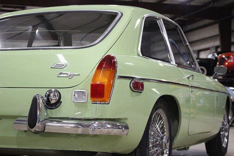 1970 MG MGB GT #29