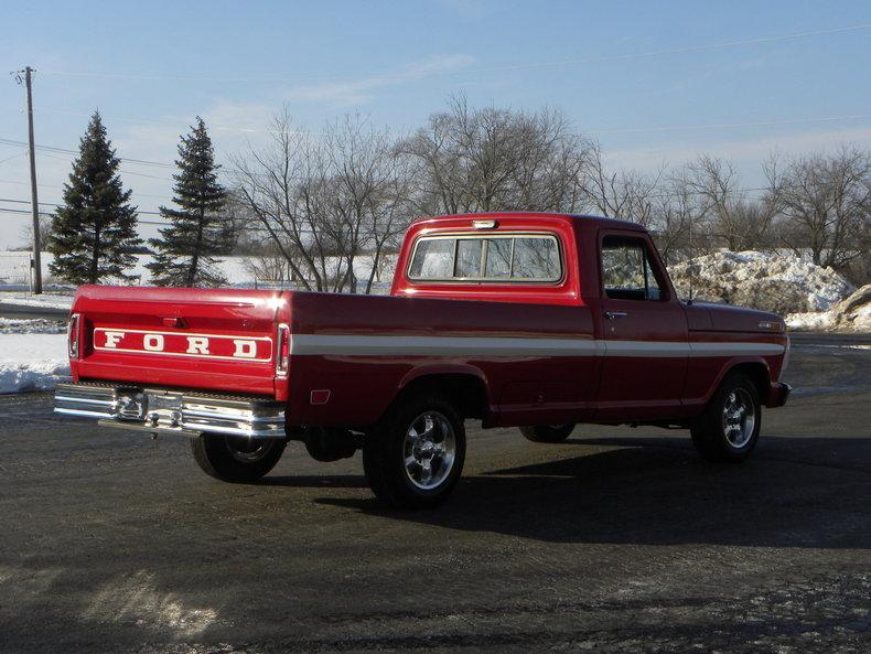 1969 Ford F100 Deluxe Styleside Pickup #14