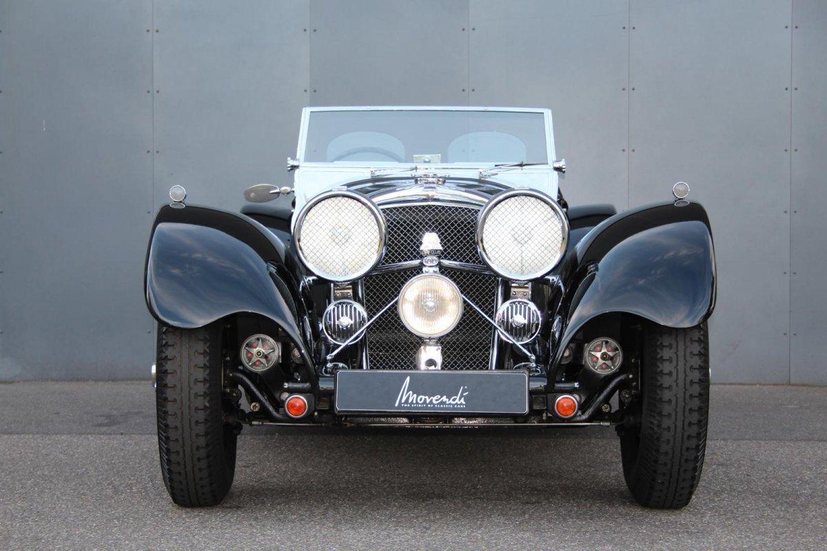 Jaguar SS 100 2,5 litre #12