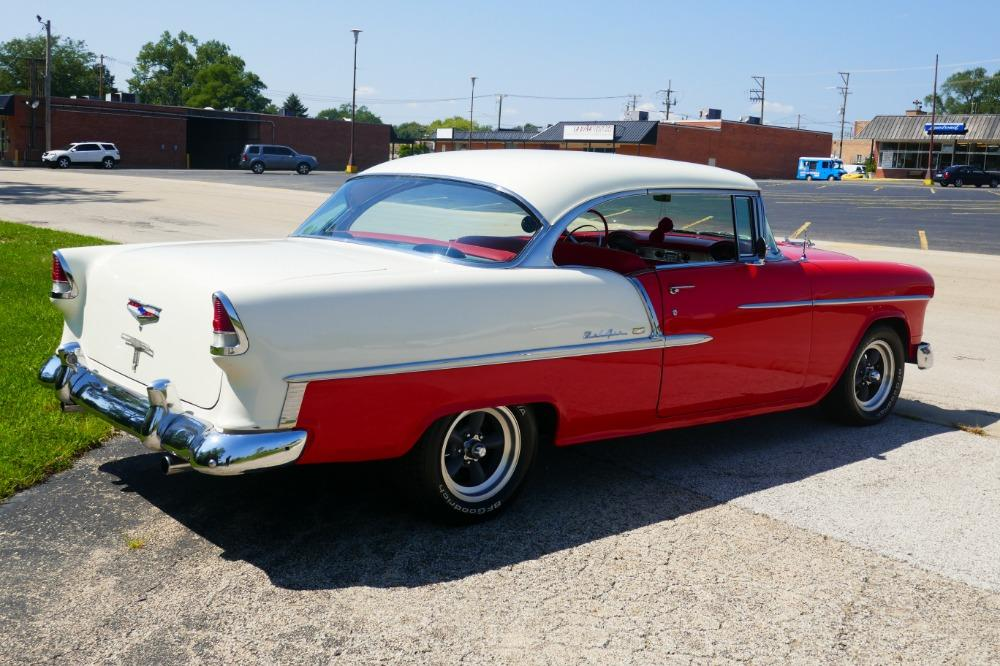 1955 Chevrolet Bel Air -BIG BLOCK-PERFECT COLOR COMBO-NEW ARRIVAL-SEE VIDEO Stock # 156NSC for sale near Mundelein, IL | IL Chevrolet Dealer #12