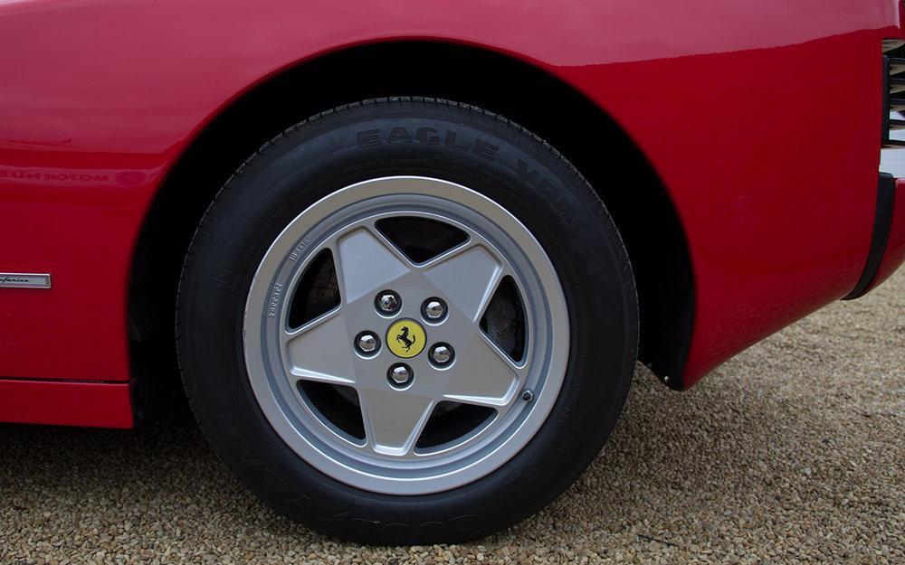1988 Ferrari Testarossa RHD Rosso Corsa with Blu Scuro #50
