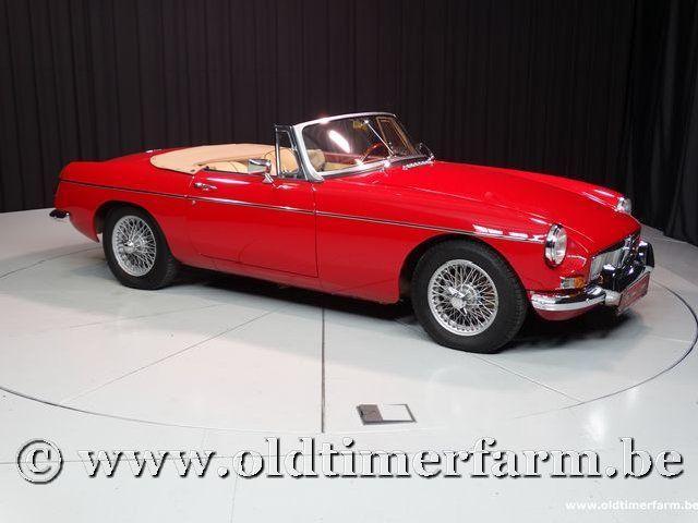 MG B Roadster Red '67 #43