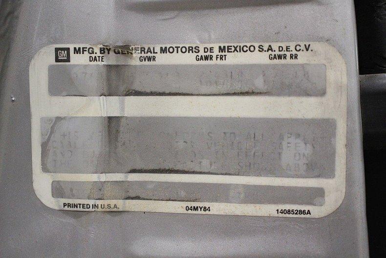 1985 Chevrolet El Camino #23
