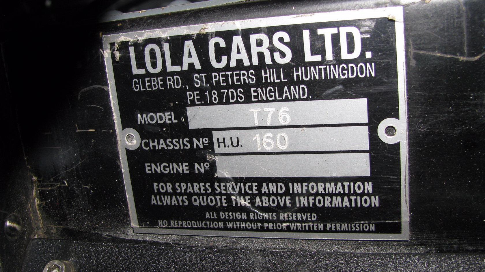 Lola T70 Mk3B Continuation #8