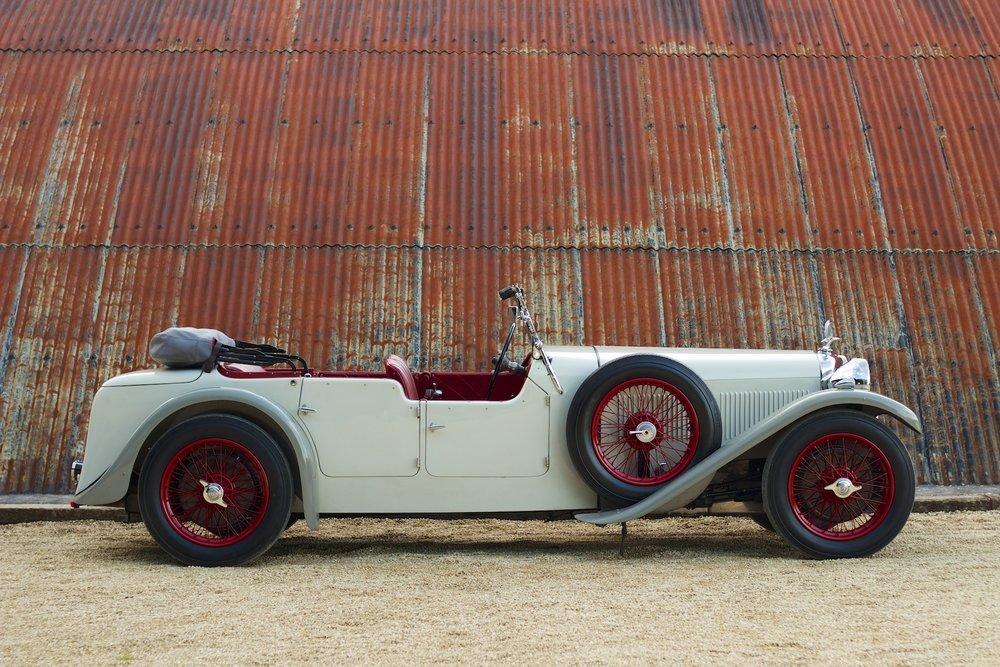 1932 Alvis Speed 20 SA 4-Door Tourer by Cross & Ellis #5