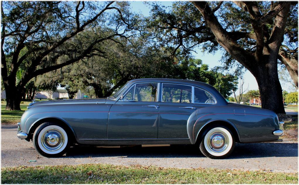 1960 BENTLEY S2 CONTINENTAL H.J. MULLINER STYLE 7508 FLYING SPUR #BC66LAR – 97,353 km (58,411 miles) #5