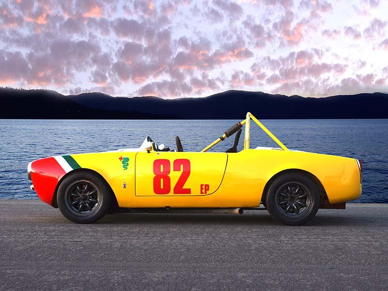 Alfa Romeo Guilia Spyder Race Car 1963 for sale | Autoclassics.com