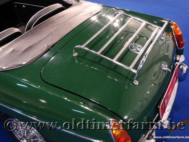 MG B Roadster Green '66 #44