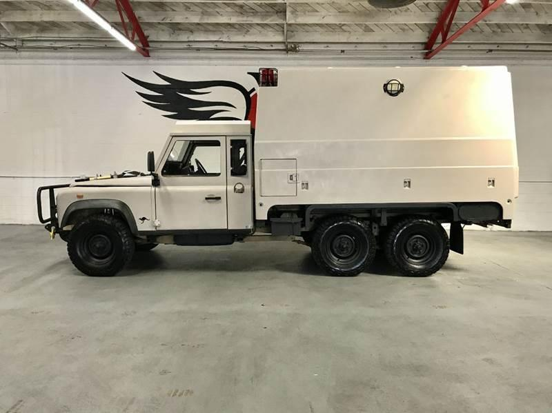 Land Rover Defender 110 Perentie Ambulance 6x6 1989 #3