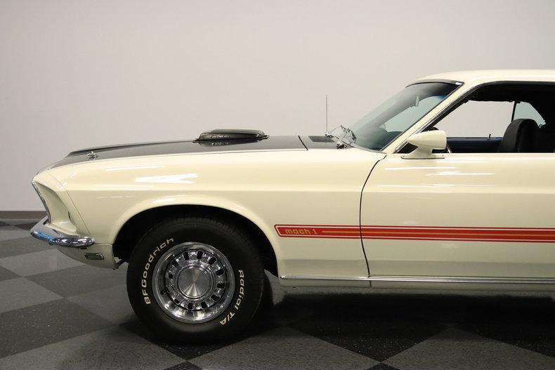 1969 Ford Mustang Mach 1 Cobra Jet #10