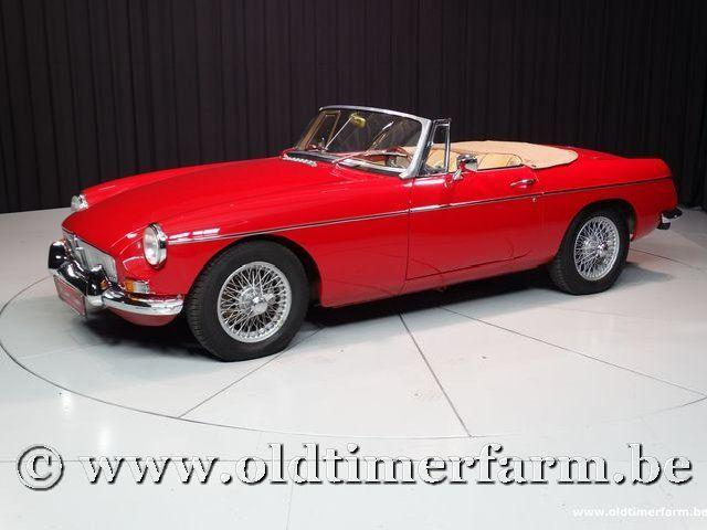 MG B Roadster Red '67 #56