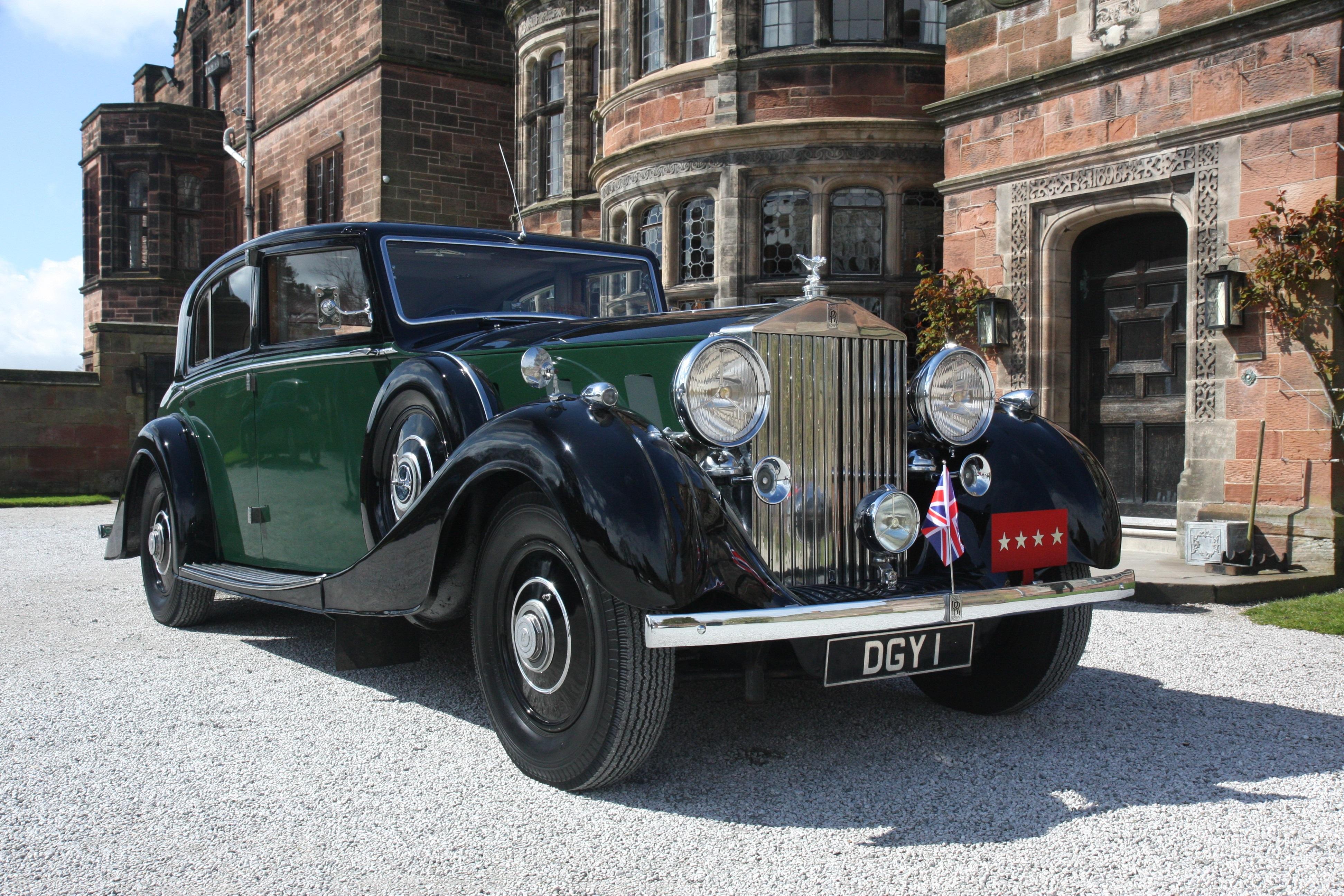 1936 Rolls Royce Phantom III #0