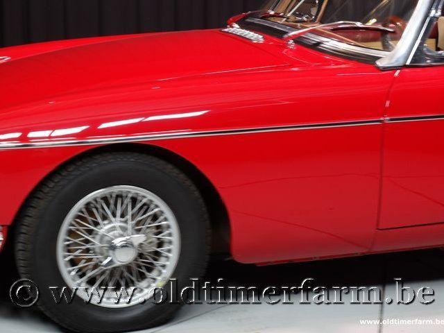 MG B Roadster Red '67 #116