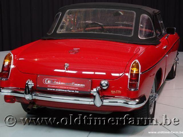 MG B Roadster Red '67 #229