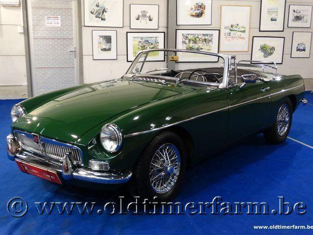 MG B Roadster Green '66 #2