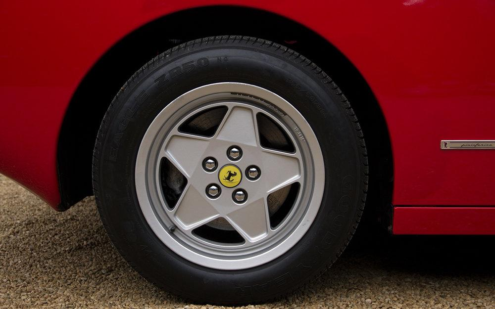 1988 Ferrari Testarossa RHD Rosso Corsa with Blu Scuro #51