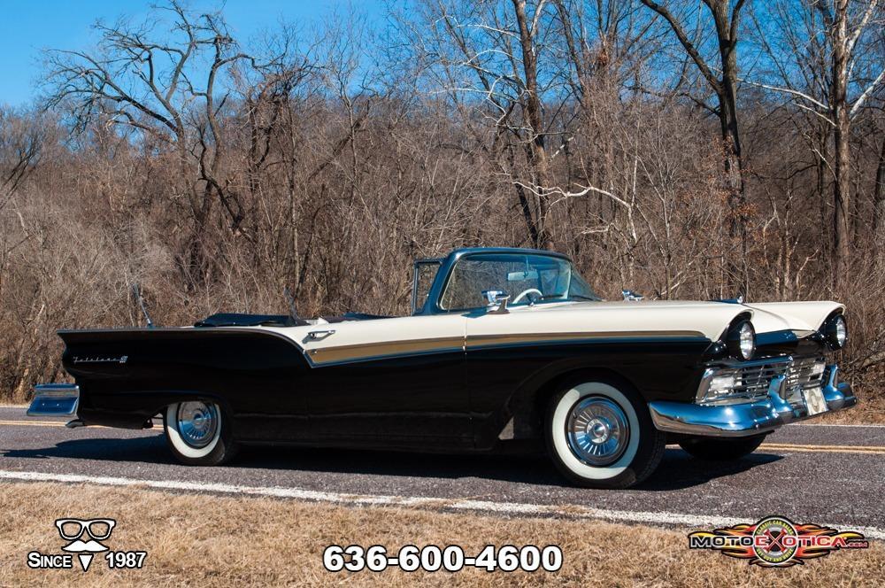 1957 Ford Fairlane 500 Sunliner Restomod #5