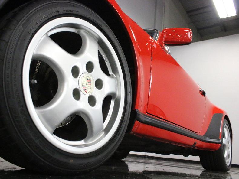 1988 Porsche 911 Turbo Cabriolet #9