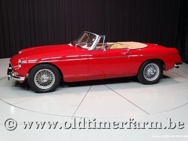 MG B Roadster Red '67 #9