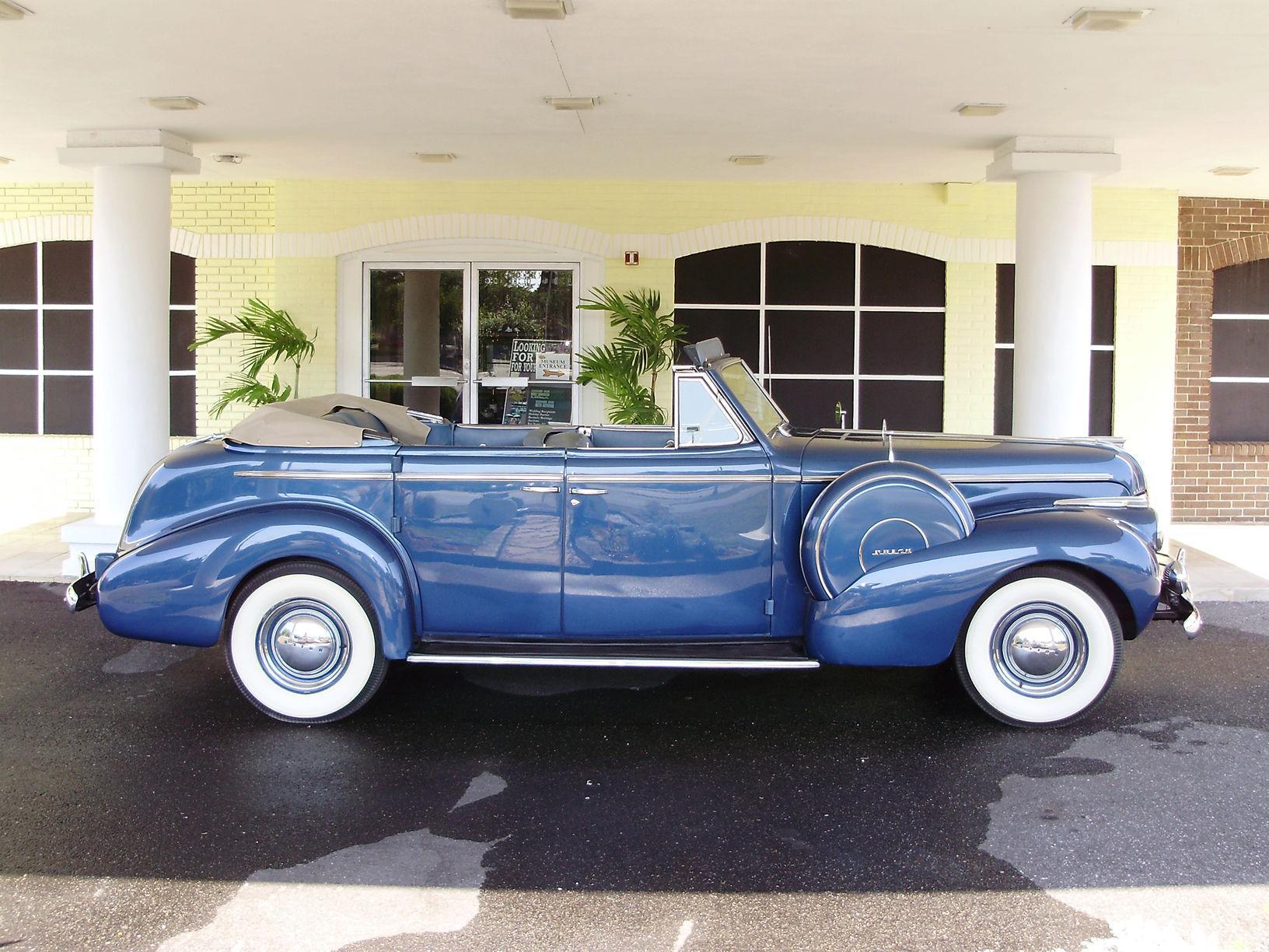 1940 BUICK CENTURY CONVERTIBLE SEDAN - Vintage Motors of Sarasota Inc. #7