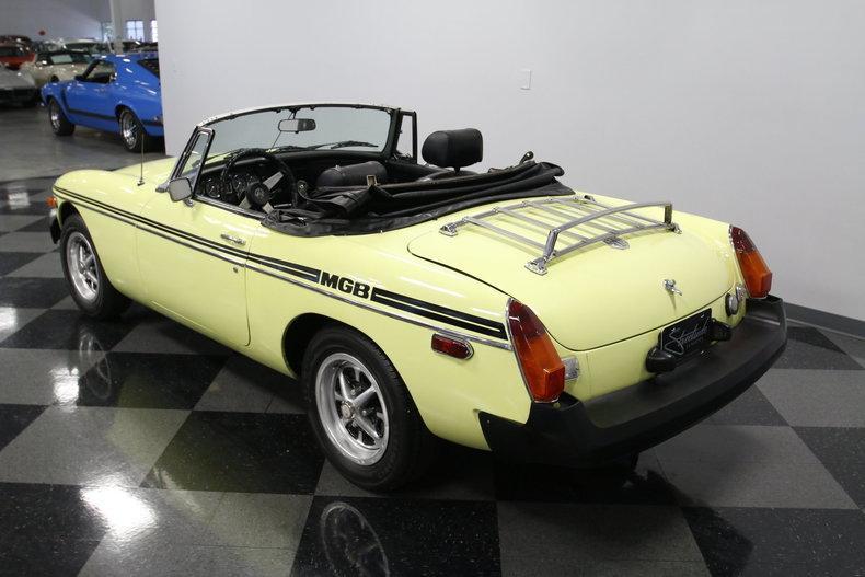 1976 MG MGB #12