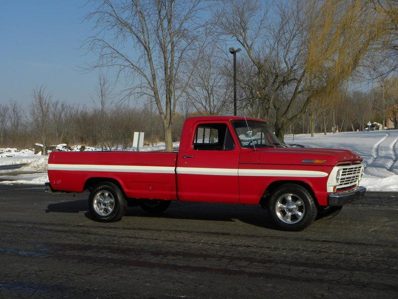 1969 Ford F100 Deluxe Styleside Pickup #2