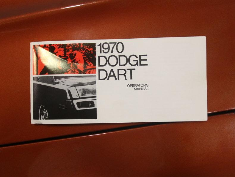 1970 Dodge Dart Swinger #58