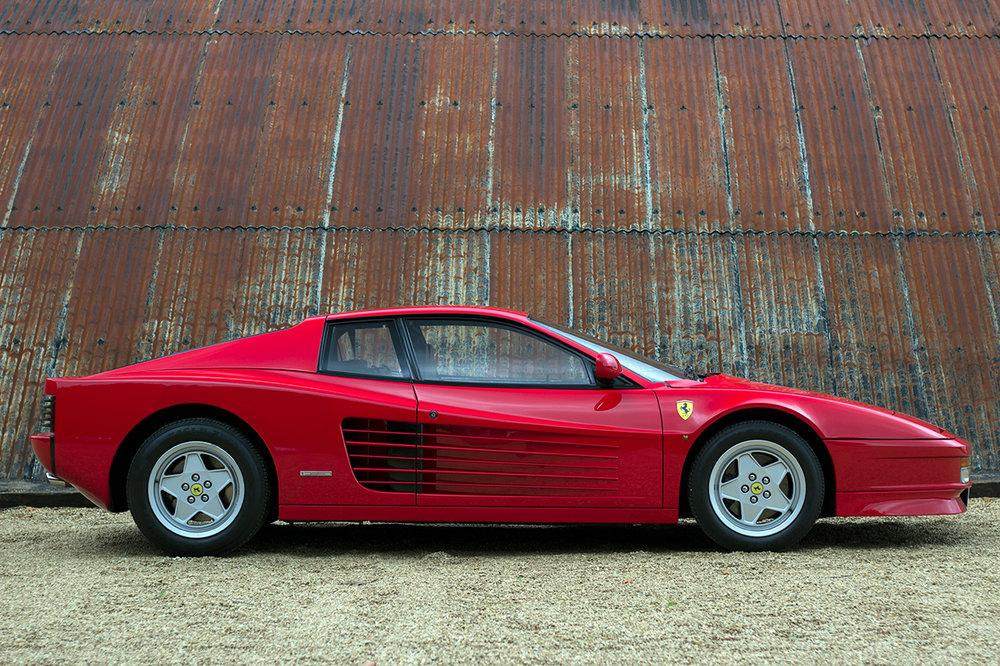 1988 Ferrari Testarossa RHD Rosso Corsa with Blu Scuro #3