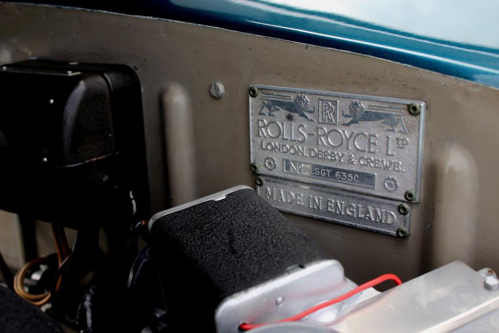 1964 ROLLS-ROYCE SILVER CLOUD III CONTINENTAL JAMES YOUNG SCV100 SPORT SEDAN #LSGT635C ONE OF 2 LEFT DRIVES BUILT #10
