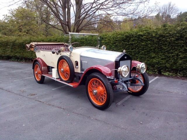 1921 Wolseley Model 20 C8 #19