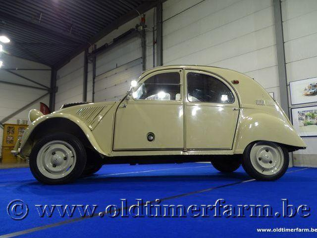Citroën 2CV 4x4 Sahara '62 #16