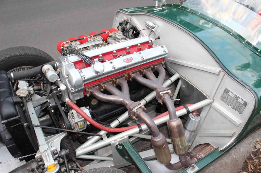"""Jaguar """"C"""" Type replica #9"""