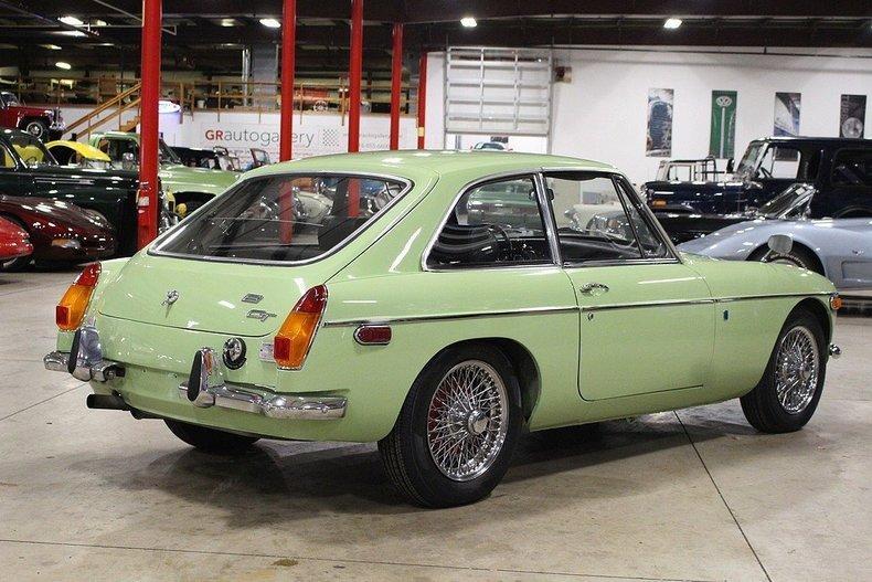 1970 MG MGB GT #4