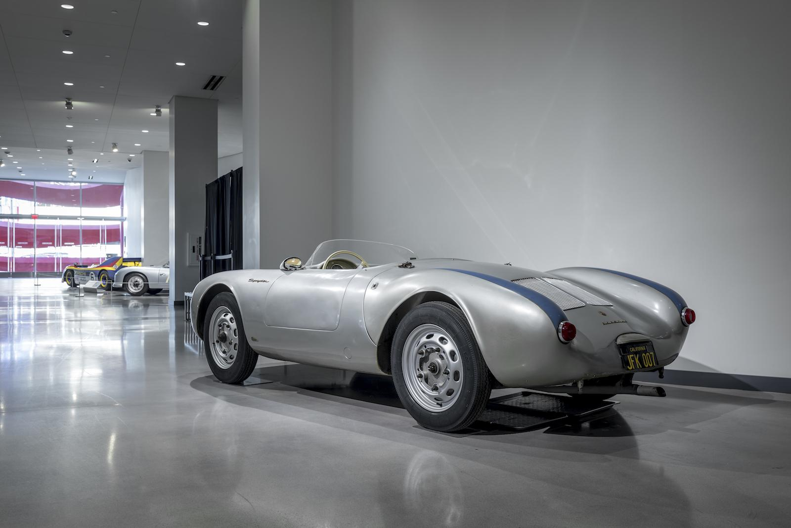 Porsche Introduced The 550/1500 RS Spyder At The 1953 Paris Auto Show.  Designed Specifically For Racing, 550 Spyders Met With Success In The Hands  Of Both ...