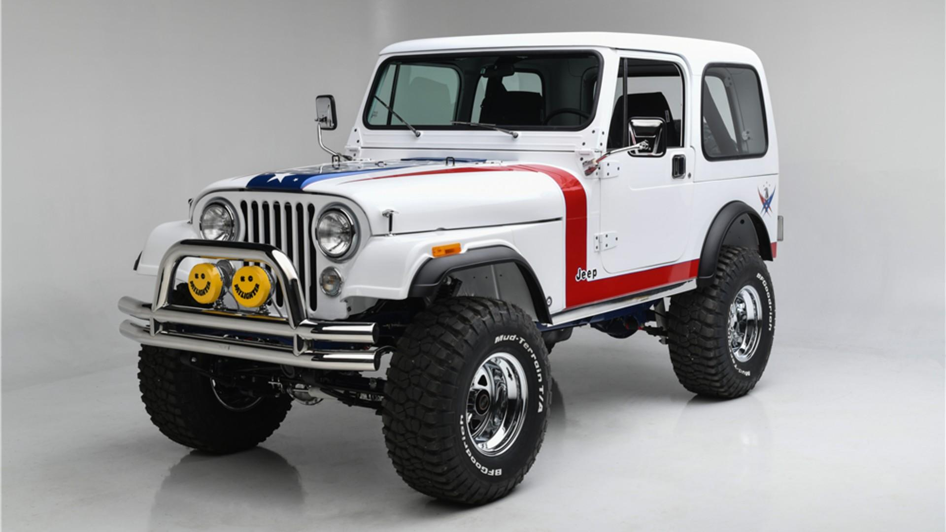 Gas Monkey Garage Jeep CJ7 Restomod Raises $1.3m For Charity